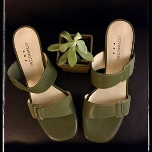 Shoes - Dress Sandal Olive Green